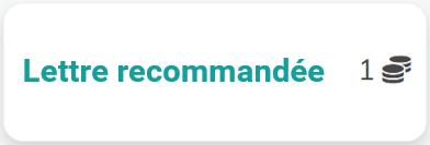 Service de lettre recommandée mydomus